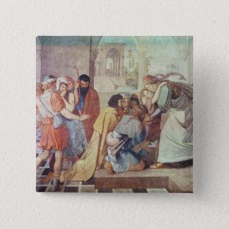 ヨセフは彼の兄弟によって確認しました 5.1CM 正方形バッジ