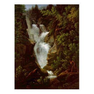 ヨセフアントンKoch - Wasserfall (滝)、1796年 ポストカード