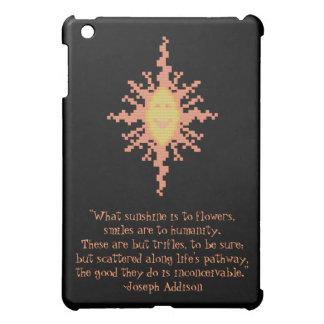 ヨセフAddisonのスマイルの引用文 iPad Mini カバー