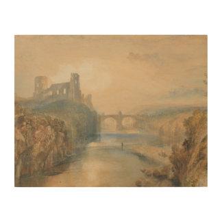 ヨセフMallordウィリアムターナー- Barnardの城 ウッドウォールアート