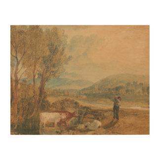 ヨセフMallordウィリアムターナー- Lulworthの城 ウッドウォールアート
