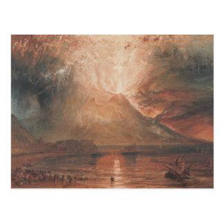 ヨセフMallordウィリアムターナー- Vesuvius ポストカード