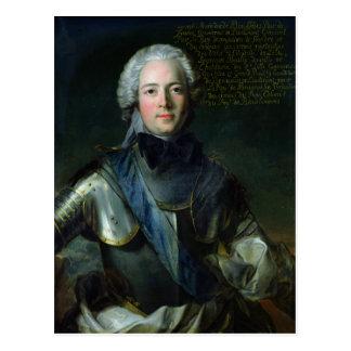 ヨセフMarie Duc de Boufflers ポストカード