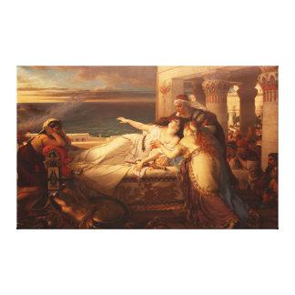 ヨセフStallaert 1872年著ディドの死 キャンバスプリント
