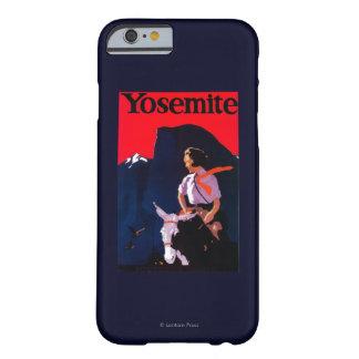 ヨセミテのヴィンテージPosterYosemite、カリフォルニア Barely There iPhone 6 ケース