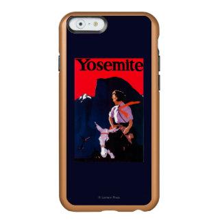 ヨセミテのヴィンテージPosterYosemite、カリフォルニア Incipio Feather Shine iPhone 6ケース