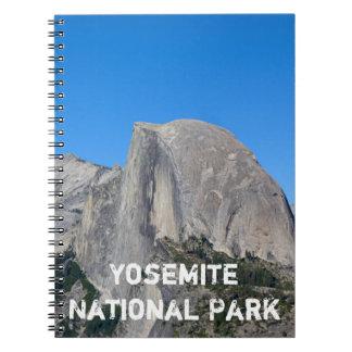 ヨセミテの半分のドーム ノートブック