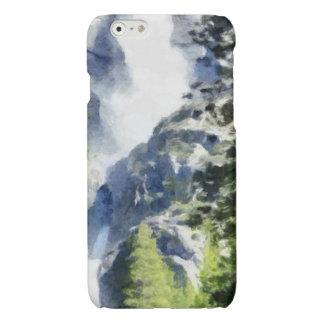 ヨセミテの滝 光沢iPhone 6ケース