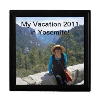 ヨセミテの私の休暇2011年! ギフト用の箱 ギフトボックス