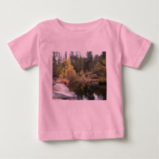 ヨセミテの自然 ベビーTシャツ