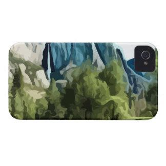 ヨセミテの谷の絵画 Case-Mate iPhone 4 ケース