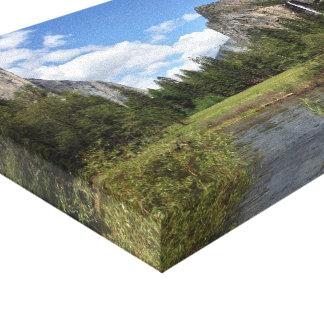 ヨセミテの谷2013年 キャンバスプリント
