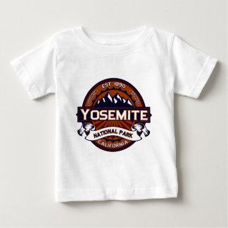 ヨセミテの鮮やかなロゴ ベビーTシャツ