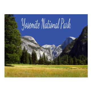 ヨセミテのmay湖Mt Hoffmannカリフォルニアの郵便はがき ポストカード