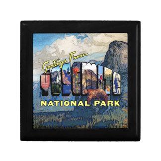 ヨセミテ国立公園からの挨拶 ギフトボックス