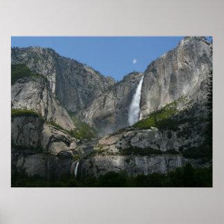 ヨセミテ国立公園からのYosemite Falls III ポスター