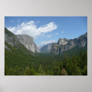 ヨセミテ国立公園のインスピレーションポイント ポスター