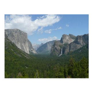 ヨセミテ国立公園のインスピレーションポイント ポストカード