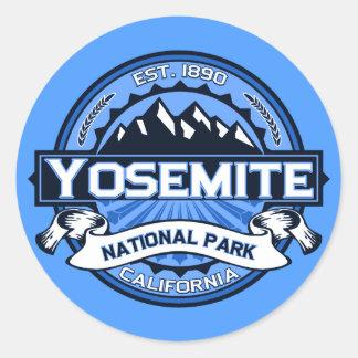 ヨセミテ国立公園のロゴ ラウンドシール
