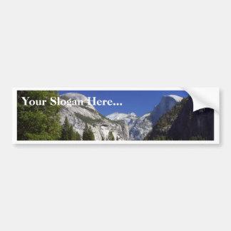 ヨセミテ国立公園の半分のドーム バンパーステッカー