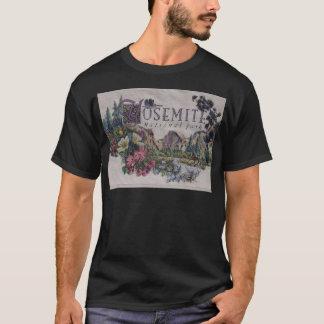 ヨセミテ国立公園の野性生物 Tシャツ