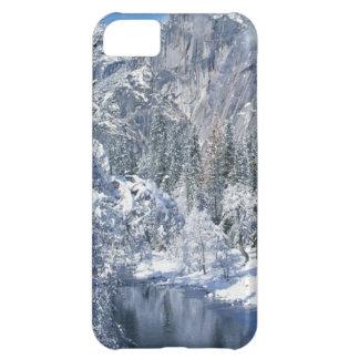 ヨセミテ国立公園の雪が多い谷のiPhon 5の場合 iPhone5Cケース