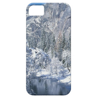 ヨセミテ国立公園の雪が多い谷のiPhon 5の場合 iPhone SE/5/5s ケース