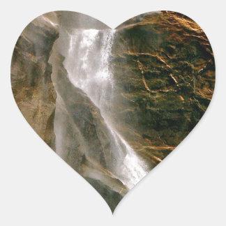 ヨセミテ国立公園のBRIDALVEILの滝 ハートシール