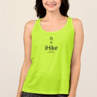 ヨセミテ国立公園のiHikeのTシャツ タンクトップ