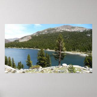 ヨセミテ国立公園のTenaya湖 ポスター