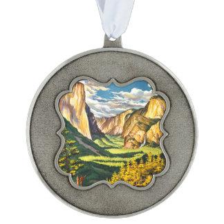 ヨセミテ国立公園カリフォルニア旅行芸術 オーナメント