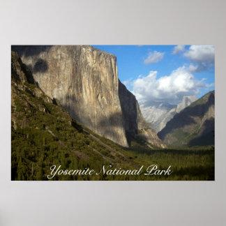 ヨセミテ国立公園ポスター ポスター