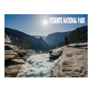 ヨセミテ国立公園、カリフォルニア郵便はがき ポストカード