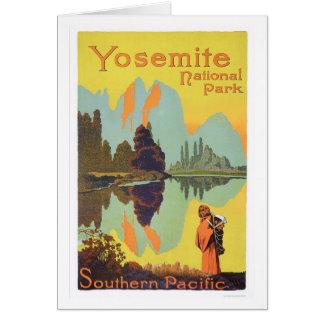 ヨセミテ国立公園 カード