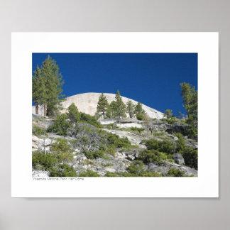 ヨセミテ国立公園-半分のドーム ポスター