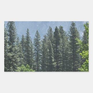 ヨセミテ国立公園 長方形シール