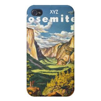 ヨセミテ米国のヴィンテージ旅行ケース iPhone 4 CASE