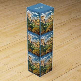 ヨセミテ米国のヴィンテージ旅行ワイン用化粧箱 ワインギフトボックス