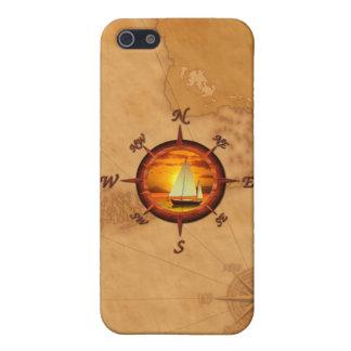 ヨットおよびコンパス面図 iPhone 5 CASE