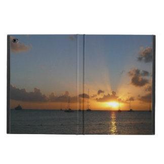 ヨットとの日没 POWIS iPad AIR 2 ケース