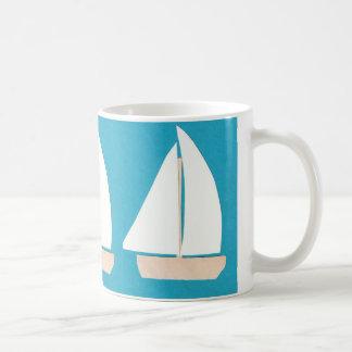 ヨットのマグ コーヒーマグカップ