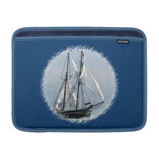 ヨットの人力車の袖 MacBook スリーブ