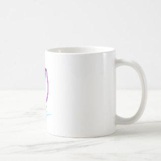 ヨットの輪郭 コーヒーマグカップ
