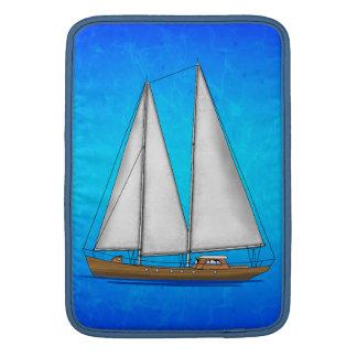 ヨットの青海原 MacBook スリーブ