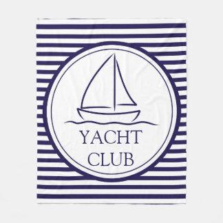 ヨットクラブ フリースブランケット