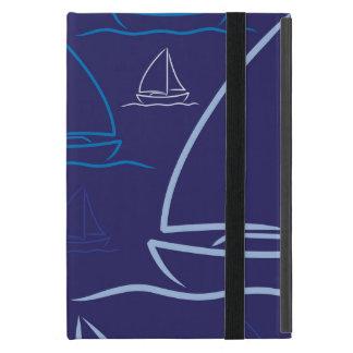 ヨットパターン iPad MINI ケース
