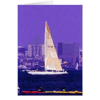 ヨット、サンディエゴ、カリフォルニア カード