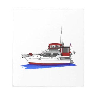 ヨット ノートパッド