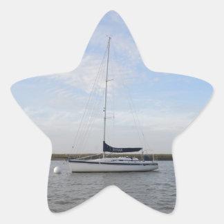 ヨットTitian 星形シールステッカー