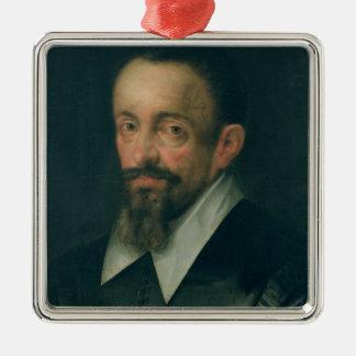 ヨハネス・ケプラー、天文学者、c.1612 メタルオーナメント